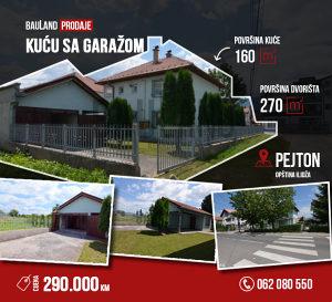 BAULAND PRODAJE / Kuća na dva sprata / Pejton, Ilidža