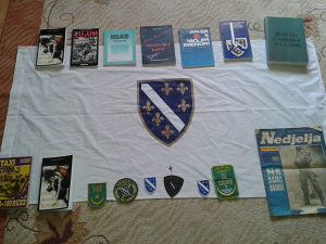 zastave - knjige - amblemi ARMIJA BIH