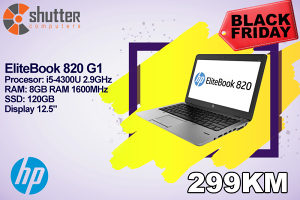 BLACK FRIDAY - HP EliteBook 820 G1 i5 4th Gen Ultrabook