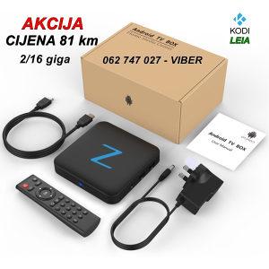 Android Tv Box Z-11 pro   KODI sa Tv Kanalima