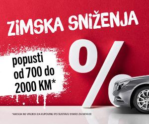 AUTO SALON KRAMAR - ZIMSKA SNIŽENJA!