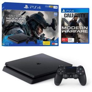 Sony Playstation PS4 1TB  + modern warfare