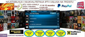 IPTV FLASH- NAJKVALITETNIJA INTERNET TELEVIZIJA