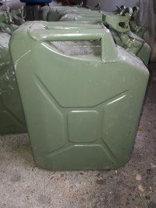 Kanister, kanta, aluminijum, off-road oprema,vojno, alu