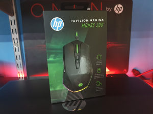 Gaming miš HP Pavilion Mouse 200, 3200 DPI, RGB, USB