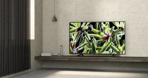 """SONY 49XG7096 49"""" 124cm WiFi SMART 4K TV"""