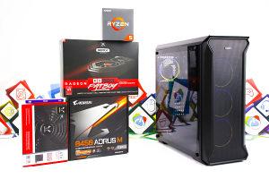 Gaming PC Titan 4; Ryzen 5 2600x; RX 590; SSD; HDD