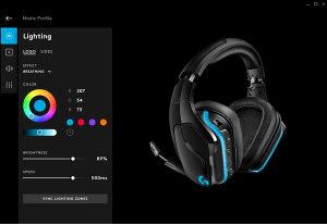 Logitech G635 7.1 Lightsync Gaming Headset RGB