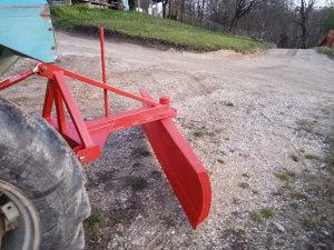 Daska grn ralica za traktor