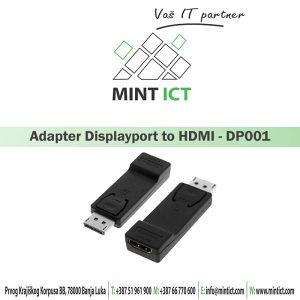 Adapter Displayport to HDMI DP001