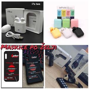 AKCIJA | Maskice, i7s tws, InPods, Transmiter