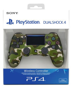 Dualshock controller PS4 dzojstik green camouflage