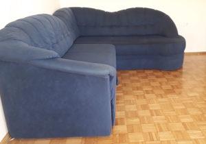 Ugaona g., fotelja i dva taburea