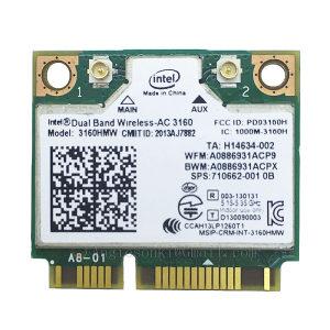 Wifi kartica Intel Dual Band Wireless-AC 3160