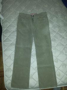 ESPRIT samtane-somotne pantalone, 32/34