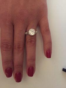 Zenski prsten srebro 925