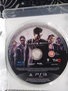 Saints Row the third ps3 igra