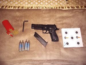 Plinski pištolj SIG SAUER 4,5 cal
