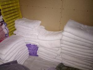 Plišane bijele deke 180x200cm