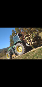 Šumski traktor john deere lkt timberjack