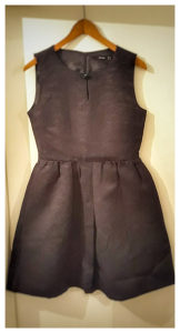 HALLHUBER Crna haljina   Vel.38