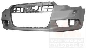 Branik prednji Audi A6 11- otvori za sprice / park senz