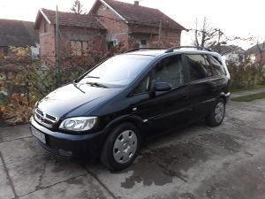 Opel Zafira 1.6 Benzin-plin