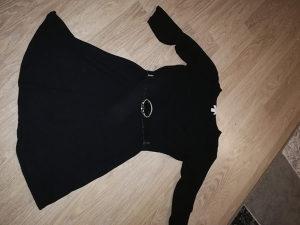 Crna haljinica hm M