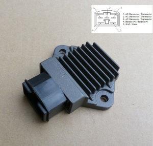 Regler motor Voltage Regulator HONDA CBR 250 5