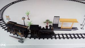Parna lokomotiva i vagoni
