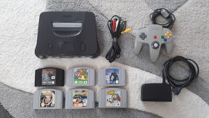 Nintendo 64 N64 Super Mario 007 Batman