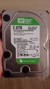 WD Green 2TB HDD