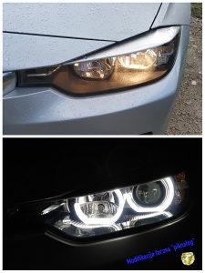 "BMW F30 farovi - modifikacija ""piknalog"" far"