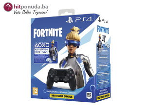 PS4 Dualshock Controller Black v2   Fortnite VCH (2019)