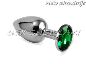 Analna metalna kupa sa kristalom 2 / Seksualna pomagala