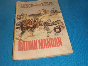 Ken Parker LMS 520. Ratnik Mandan