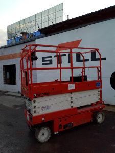 Škarasta platforma Snorkel 2632E