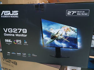 "Asus gaming monitor VG279Q, 27"", IPS, 144Hz, 1ms,"