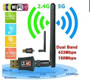 Wifi antena dual band