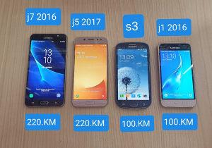 Mobilni telefoni Samsung J1,J5,J7,S4,S3mini,s4mini