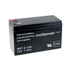 Akumulator olovni baterija punjiva 12V-7.2Ah