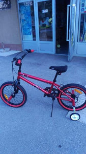 BMX + pomoćni točkovi 5-9 g, biciklo