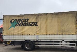Kamionski sanduk: dužina 7,20 širina 2,50