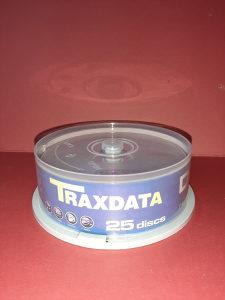 TRAXDATA - DVD - R [ 25 KOMADA ]