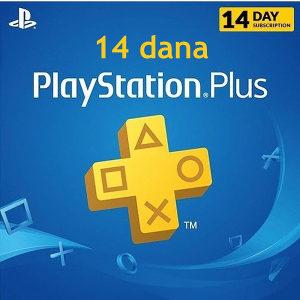 PlayStation PS PLUS 14 DANA PRETPLATA *AKCIJA*