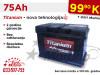 Akumulatori TITANIUM 75Ah - Besplatna dostava!