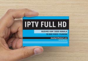 IPTV Full HD 13 000 kanala