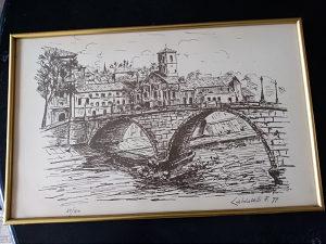 Umjetničko djelo litografija