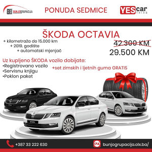 Škoda Octavia 2019g 1.6 MPI Automatik