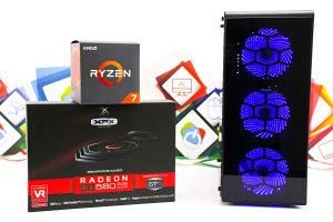 Gaming PC CXC2; Ryzen 7 2700x; RX 580; 240GB SSD; 16GB